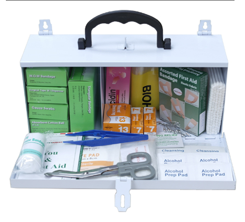 First Aid Kit with Metal Large Casing PM-02-ML Content