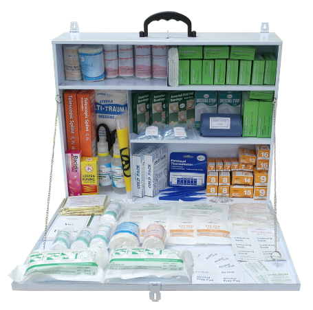 First Aid Kit with Metal Giant Casing PM-05-MG Content