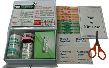 First Aid Kit with PVC Mini Casing PM-01-PMN Content