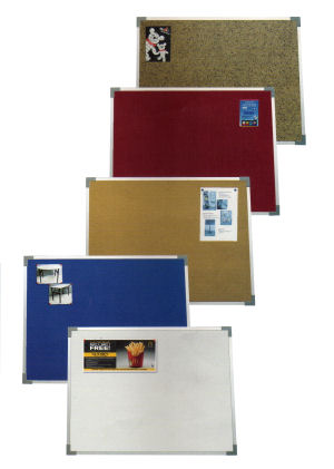 Meidi Millen Notice Board with Aluminium Frame