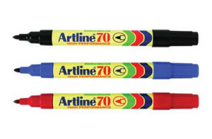 Artline 70 Marker Black