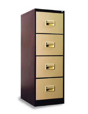 YMI 404 - 4 Drawer Filing Cabinet - Steel