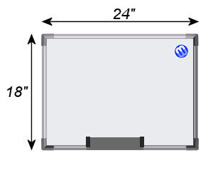 Magnetic Whiteboard 1.5' x 2'