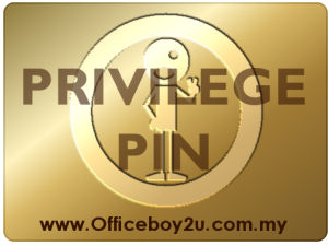 Officeboy2u Privilege Pin