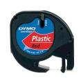 DYMO LetraTAG Plastic Tape - Red - SMOP91203