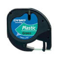 DYMO LetraTAG Plastic Tape - Green - SMOP91204