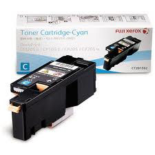 Fuji Xerox DPCP105B / CT201592 Cyan Toner Cartridge - Original