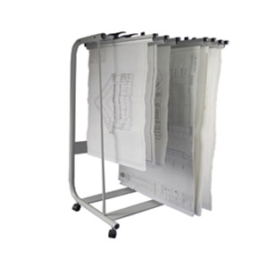 Plan Hanger Stand PHS-125 - Front Loading - A1 or  A0 - for 25 hangers