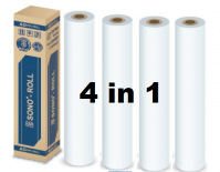 Sono Roll Plotter Paper A0 841mm x 50m x 2 inches 4 in 1