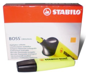 Stabilo Boss Highlighters Yellow