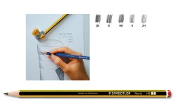 Staedtler 120 Noris Pencil 2B 12 pcs