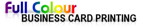 Full colour business card printing
