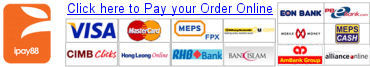 Make Payment via Officeboy2u Online Payment Gateway iPay88