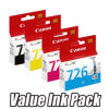 Canon CLI-726 Ink Cartridge Value Pack