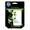 HP 61 CR311AA Black+Colour Combo Pack