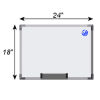 Meidi Millen Magnetic Whiteboard 1.5' x 2'
