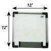 Meidi Millen Magnetic Whiteboard 1' x 1'