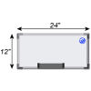 Meidi Millen Magnetic Whiteboard 1' x 2'