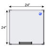 Meidi Millen Magnetic Whiteboard 2' x 2'