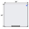 Meidi Millen Magnetic Whiteboard 3' x 3'