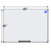 Meidi Millen Magnetic Whiteboard 3' x 4'