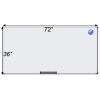 Meidi Millen Magnetic Whiteboard 3' x 6'