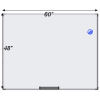 Meidi Millen Magnetic Whiteboard 4' x 5'