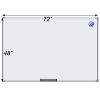 Meidi Millen Magnetic Whiteboard 4' x 6'