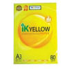 IK Yellow A3 Paper 80gsm - 450 sheets