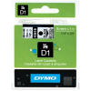 DYMO D1 Standard Tape 6mm x 7m - Black on Clear - SMOP43610