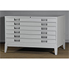 YMI 504 Plan File Cabinet 6 Drawers Horizontal Antiquarian